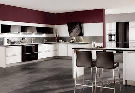 weiße küche wandfarbe küchen küchenfronten in schwarz weiß