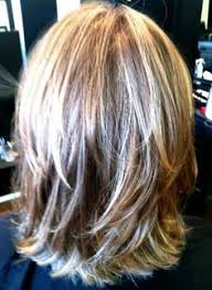 layered haircuts for medium hair back view pinteres