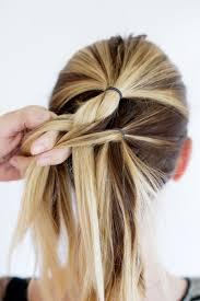 tuck in hairstyles tucked braid updo a beautiful mess