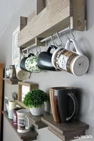 Interior Design On Wall At Home by How To Create A Diy Coffee Station At Home Making Manzanita