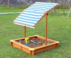 kid u0027s outside playground sandbox with retractable canopy u2013 yardify com