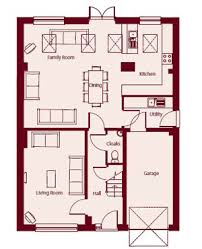 kitchen dining family room floor plans ideas where utility room remains unchanged floor plans pinterest