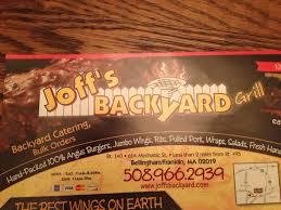 Backyard Grill Review joff u0027s backyard grill bellingham restaurant reviews phone