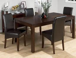 carlsbad cherry butterfly leaf 5 piece dining set with chestnut