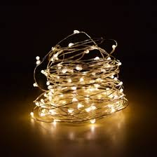 100 warm white led wire waterproof string lights 33ft ac