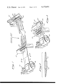 patent us4170691 steel metal web handling method apparatus and