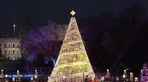 lights national tree for 1st time nbc4 washington