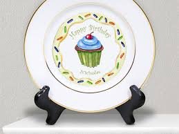 personalized ceramic plates these personalized ceramic dinner plates are on sale this month