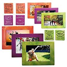 faith magnetic picture frames and refrigerator