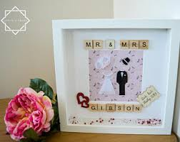 personalized wedding photo frame family tree frames personalised handmade scrabble frames for