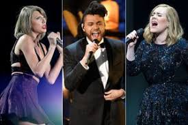 top 7 pop artists of 2016