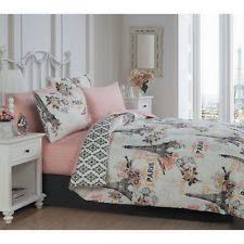 Blush Pink Comforter Pink Bedding Ebay