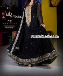 fancy frocks fashion of black fancy umbrella frock design 2015 2014