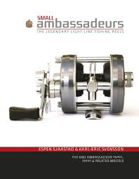 small ambassadeurs the legendary light line fishing reels the