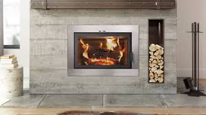 ambiance elegance 36 wood fireplace clean face w modern front