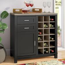 Lighted Bar Cabinet Lighted Wine Cabinet Wayfair