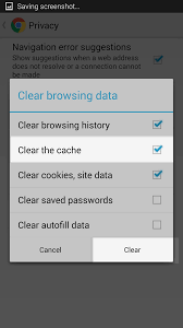 android how to clear cache clearing your chrome browser on your android phone inmotion hosting