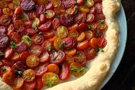 Ina Garten Tomato Tart Recipe Heirloom Cherry Tomato Tart Recipe On Food52