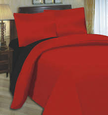 4 6 pc complete luxury fitted duvet quilt bed sheet pillowcase