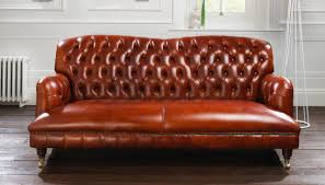 Tufted Chesterfield Sofa by Howard Tufted Chesterfield Sofa Tufted Couch