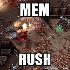 Zerg Rush Meme - zerg rush meme generator