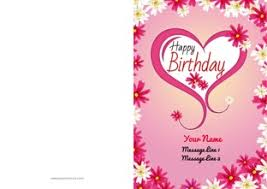 create customized birthday greeting cards online print at