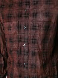 motorcycle jacket store amiri plaid button down shirt red base men clothing shirts amiri