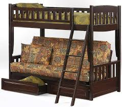 Futon With Storage Drawers Westwood Futon Bunk Beds