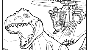 Coloring Page 1 Coloring Pages Activities Jurassic World Coloring Page