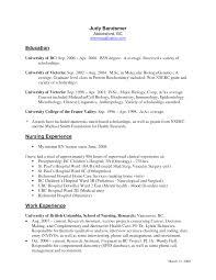 Recent Graduate Resume Examples Sample Nursing Resume With No Experience Custom Writing At 10