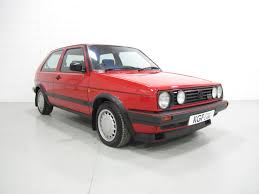 volkswagen old red a legendary mk2 vw golf gti 16v 3dr with two owners full history