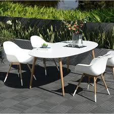modele de jardin moderne awesome table jardin teck alinea gallery amazing house design