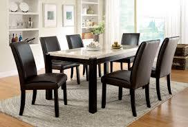 Walnut Dining Room Sets Nice Ideas Marble Top Dining Table Pleasurable Furniture Of