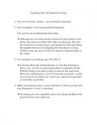 Examples Of Good Expository Essays Expository Essay About Music