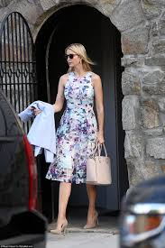 ivanka brings home trump coffee after gym daily mail online