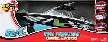 new bright 7175 17 in master craft u0026 44 r c ff boat wake board