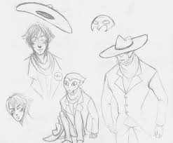 a monster in paris sketches by yookami on deviantart