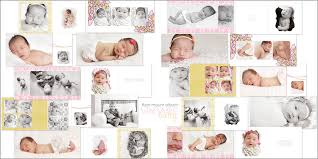 baby girl photo album vintage baby girl flush mount album 36 00 photoshop templates