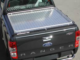 Ford Ranger Truck Bed Cover - ford ranger mk5 super cab alloy chequer plate bed cover continuous