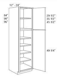 2 Door Pantry Cabinet Single Door Pantry Cabinet