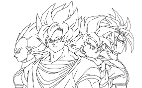 goku coloring pages coloring pages gallery