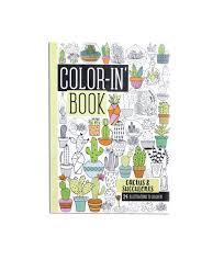 Amazon Succulents Amazon Com Ooly Color In U0027 Book Travel Size Cactus U0026 Succulents