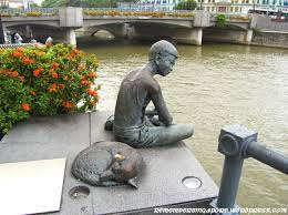 a pictorial gallery of bronze sculptures in singapore remember