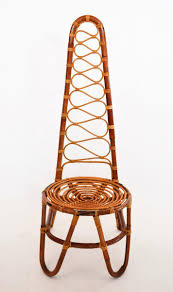 bamboo chair mid century bamboo chairs 1975 set of 6 for sale at pamono
