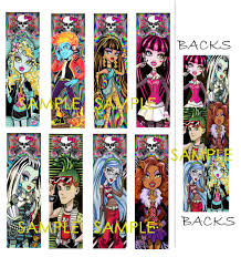 monster high bookmarks google search emily u0027s coloring pages