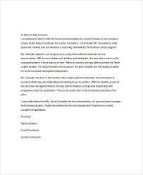 37 recommendation letter format samples