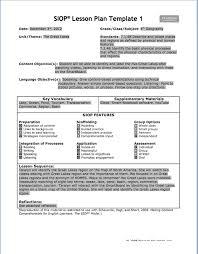lesson plan reflection sample