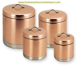 copper canisters kitchen kumar and sons presenting copper equipment s and these