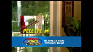 Sliding Screen Door Closer Automatic by Door Genie Automatic Sliding Door Closer Youtube