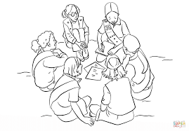 scouts coloring page free printable coloring pages